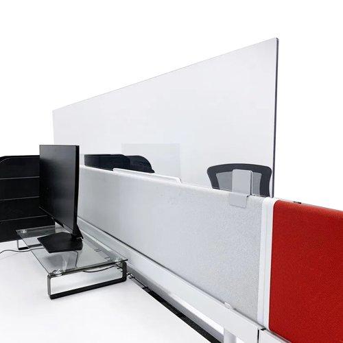 Beaverswood Office Desk Divider Extension Screen 300x1600mm ODE1630/D
