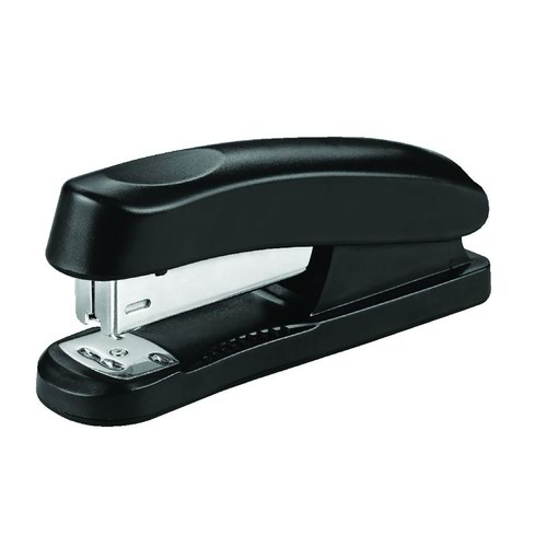Value Half-Strip ABS Stapler Black