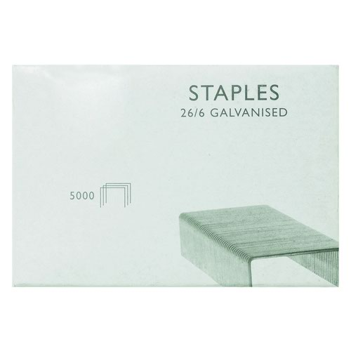 Value Staples 26/6 6mm (5000)