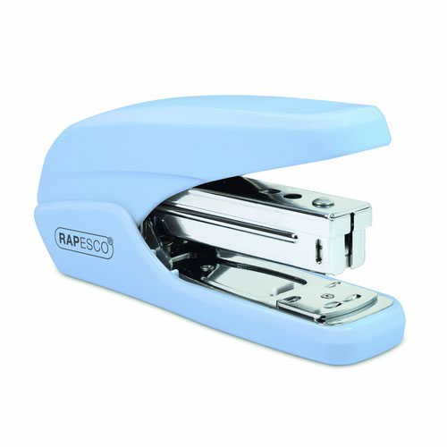 Rapesco X5-25PS Less Effort Stapler Powder Blue 1340