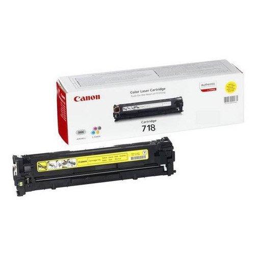 Canon 718Y Toner Cartridge Yellow 2659B002