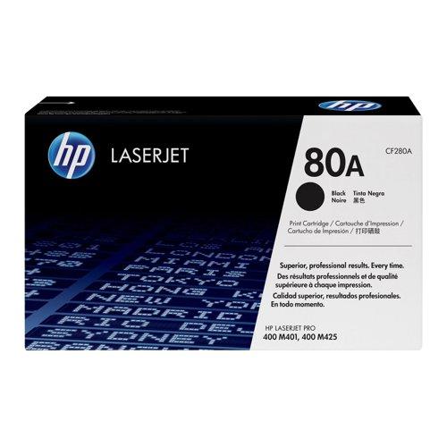 HP No.80A Toner Cartridge Black CF280A