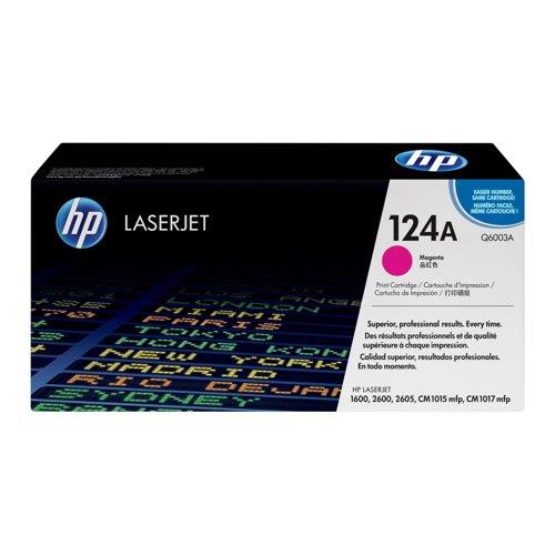 HP No.124A Toner Cartridge Magenta Q6003A
