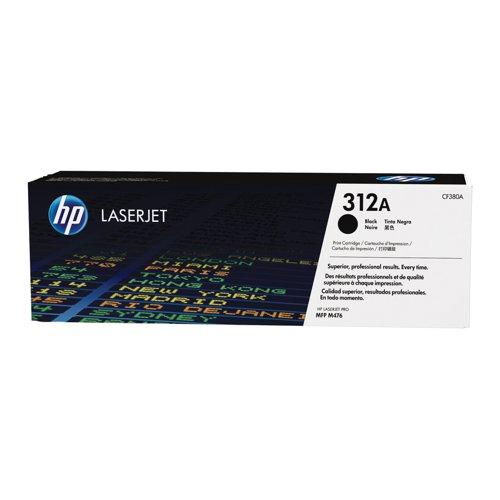 HP No.312A Toner Cartridge Black CF380A