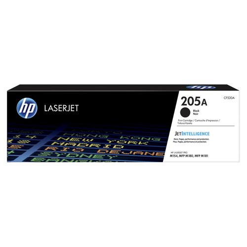 HP No.205A Toner Cartridge Black CF530A
