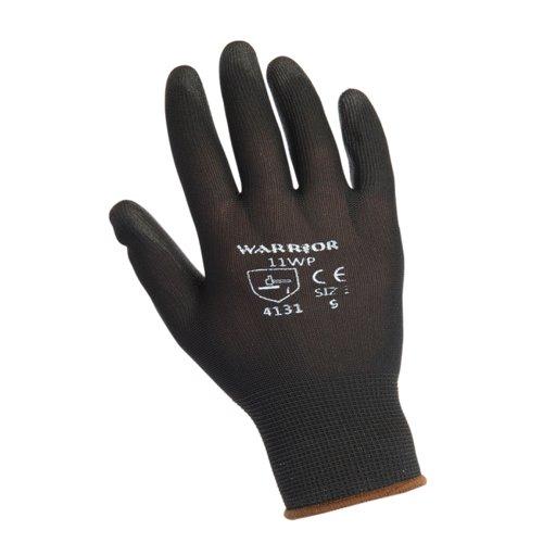 Warrior Black PU Gloves 0111WP