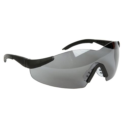 Warrior Grey Anti-Glare Lens Safety Spectacles 0115AG