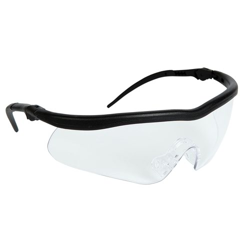 Warrior Clear Anti-Glare Lens Safety Spectacles 0115AR