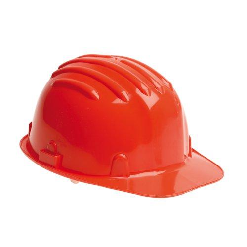 Warrior Budget Safety Helmet Red 0118HR1