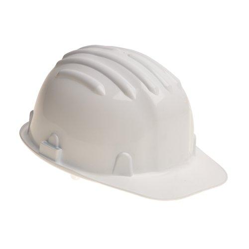 Warrior Budget Safety Helmet White 0118HW1