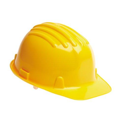 Warrior Budget Safety Helmet Yellow 0118HY1