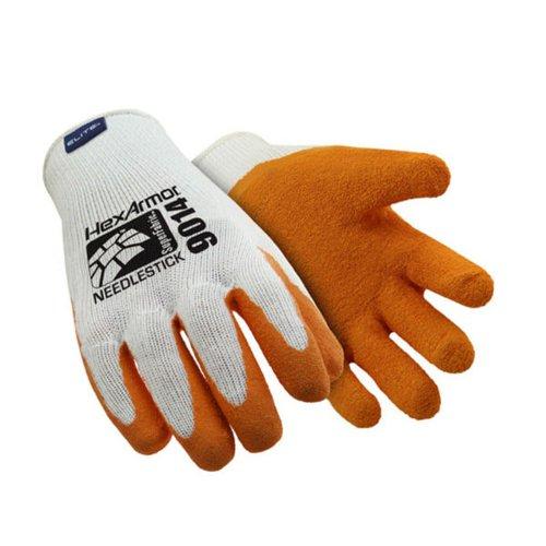 HexArmor Sharpsmaster II Gloves Sz9 Orange HEX9014-09