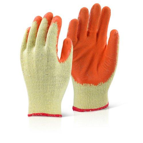Beeswift Economy Grip Glove Large Orange (10) EC8NORL