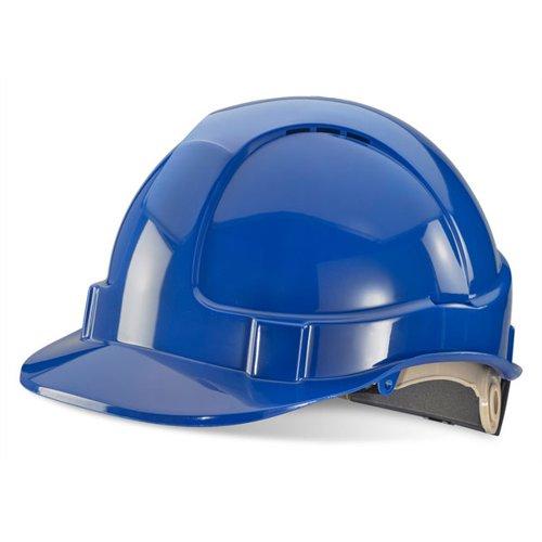 Beeswift Economy Vented Safety Helmet Blue BBVSHRHB