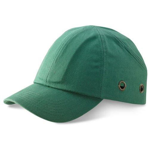 Beeswift Safety Baseball Cap Green BBSBCG