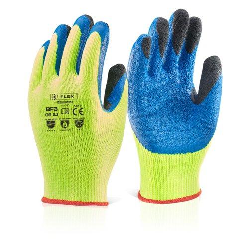 Beeswift Latex Thermo-Star Glove Sz8 Saturn Yellow BF3SY08