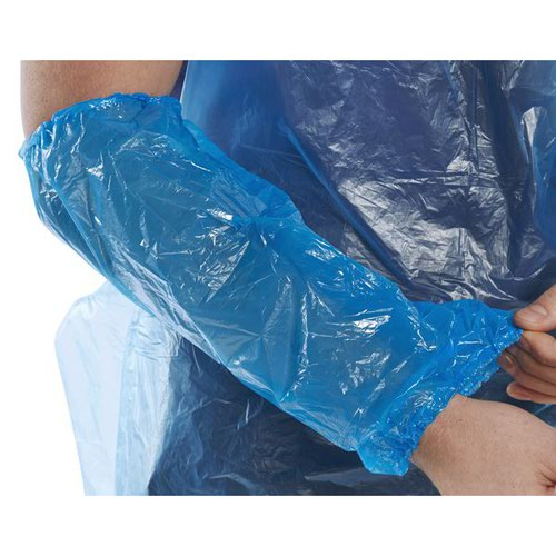 Beeswift Disposable Oversleeves 14inch Blue (1000) DO14B2
