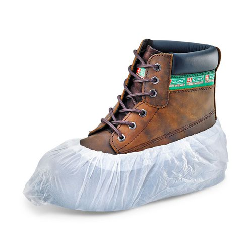 Beeswift Disposable Overshoes White (2000) DOSW16