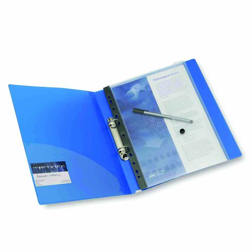 Rapesco Ring Binder Popper Wallet High Capacity A4 1630