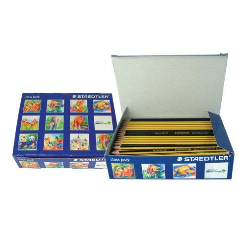 STAEDTLER 121 Noris Blackhead Pencil Classpack HB (150) 121C150