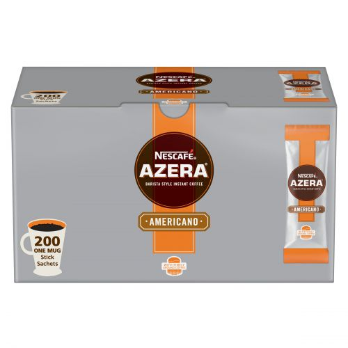 Nescafe Azera (2g) Americano Instant Coffee Stick Packs (Pack 200)