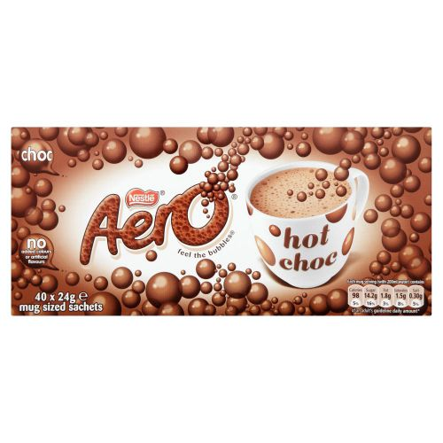 Nestle Aero Hot Chocolate Sachets A02766 [Pack 40]