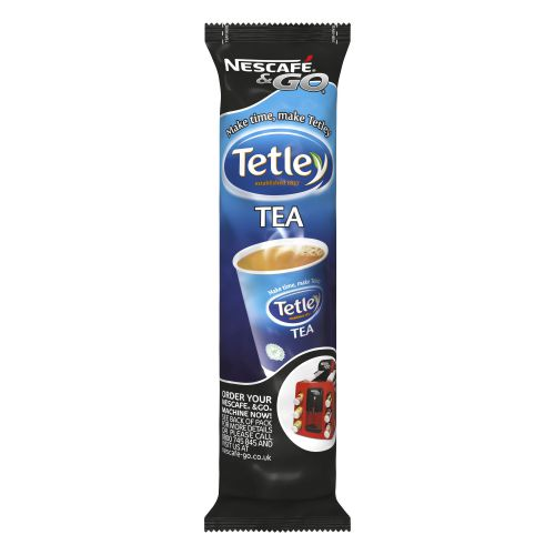 Nescafe & Go Tetley Tea Foil-sealed Cup for Drinks Machine Ref 12367999 [Pack 16]