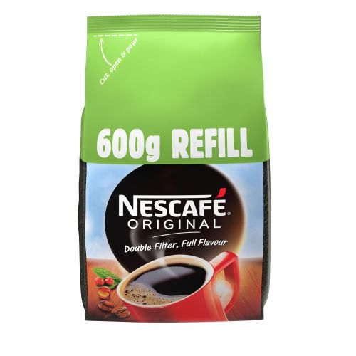Nescafe Original Instant Coffee Refill Pack 600g Ref 12315643