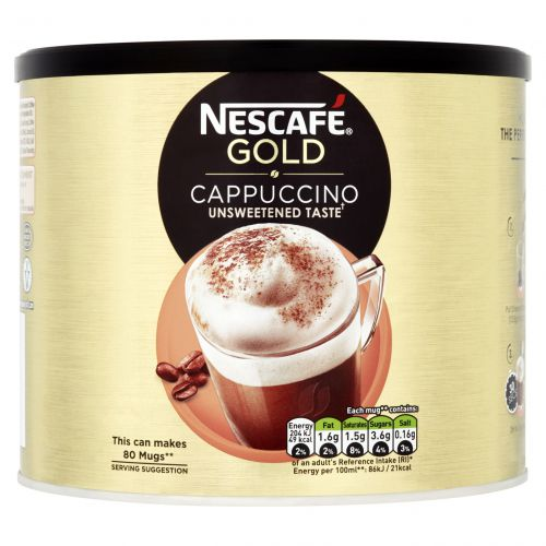 Nescafe Cappuccino 1kg (Makes approx 60 cups) 12314882