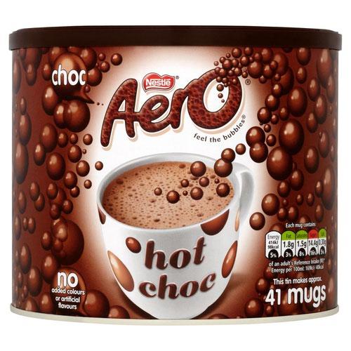 Nestle Aero Hot Drinking Chocolate 1kg 12164122