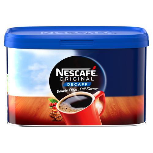 Nescafe Original Coffee Granules Decaffeinated 500g 12315569
