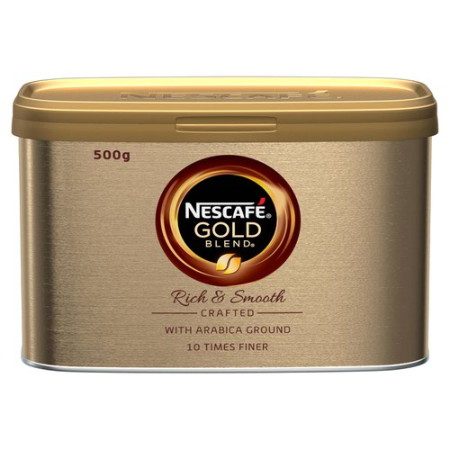 Nescafe Gold Blend Instant Coffee 500g (Pack 6)