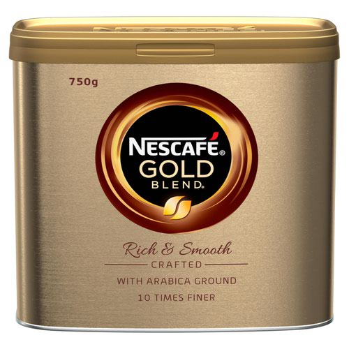 Nescafe Gold Blend Instant Coffee 750g (Pack 6)