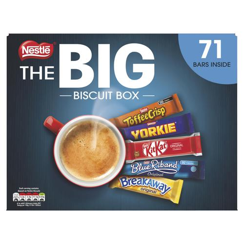 Nestle Big Chocolate Box Assorted 99 Calories Per Bar Pack 70