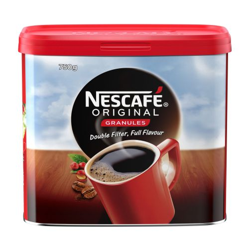 Nescafe Instant Coffee Granules 750g 12283921 Hot Drinks AU00036