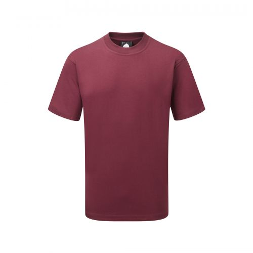 Goshawk Deluxe T-Shirt - 5XL - Burgundy
