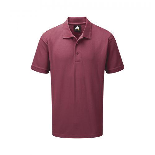 Eagle Premium Poloshirt - 2XL - Burgundy Polo Shirts and T-Shirts 1150-2XL-BY