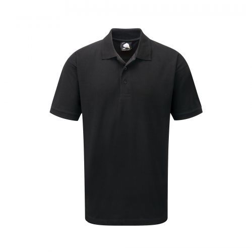 Petrel 100% Cotton Poloshirt - 3XL - Black