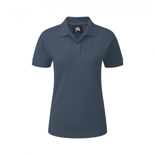 Wren Ladies Poloshirt - 14 - Charcoal