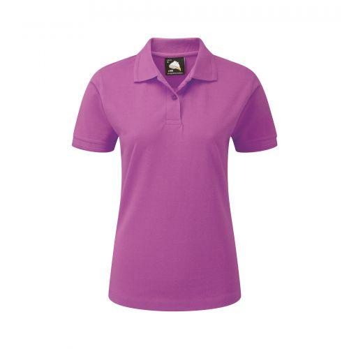 Wren Ladies Poloshirt - 14 - Pink