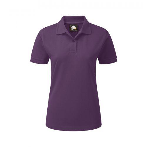 Wren Ladies Poloshirt - 22 - Purple Polo Shirts and T-Shirts 1160-22-PU