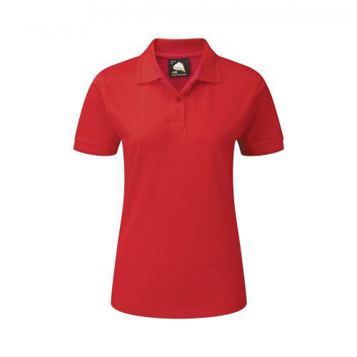 Wren Ladies Poloshirt - 20 - Red