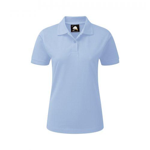 Wren Ladies Poloshirt - 16 - Sky