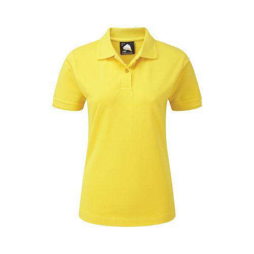 Wren Ladies Poloshirt - 12 - Yellow