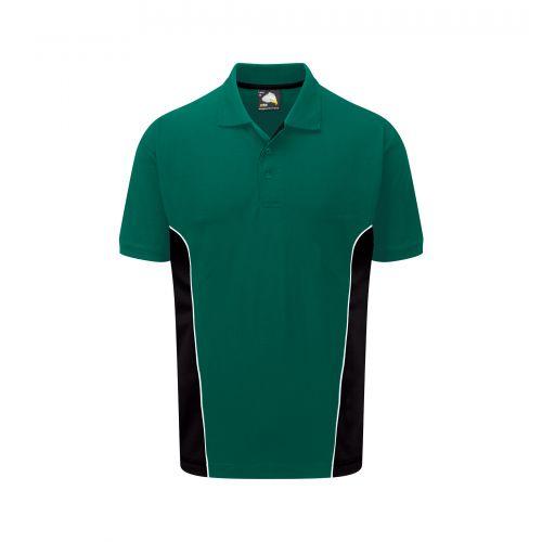 Silverswift Poloshirt - 2XL - Bottle - Black Polo Shirts and T-Shirts 1180-2XL-BGBK