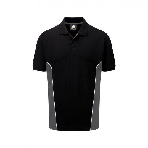 Silverswift Poloshirt - XS - Black - Graphite