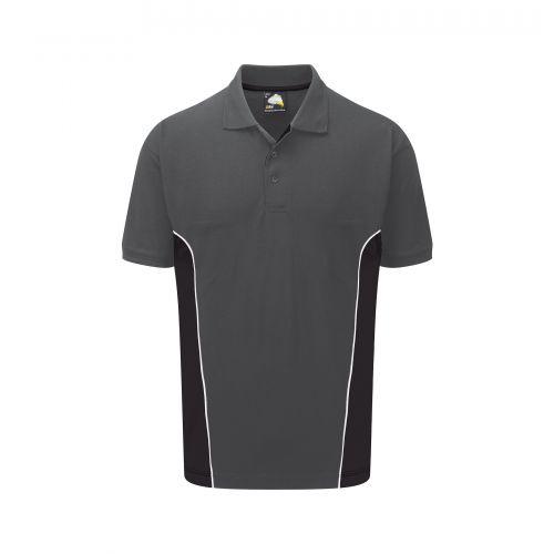 Silverswift Poloshirt - XS - Graphite - Black
