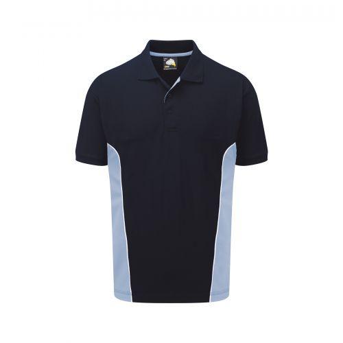 Silverswift Poloshirt - M - Navy - Sky