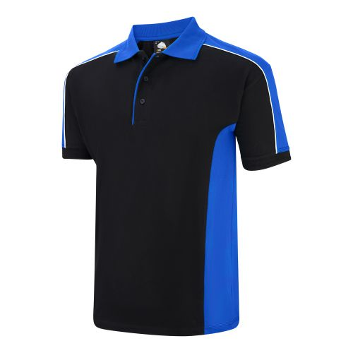 Avocet Poloshirt - S - Navy - Royal Blue