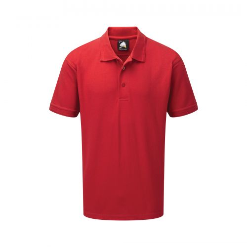 Oriole Wicking Poloshirt - XS - Red
